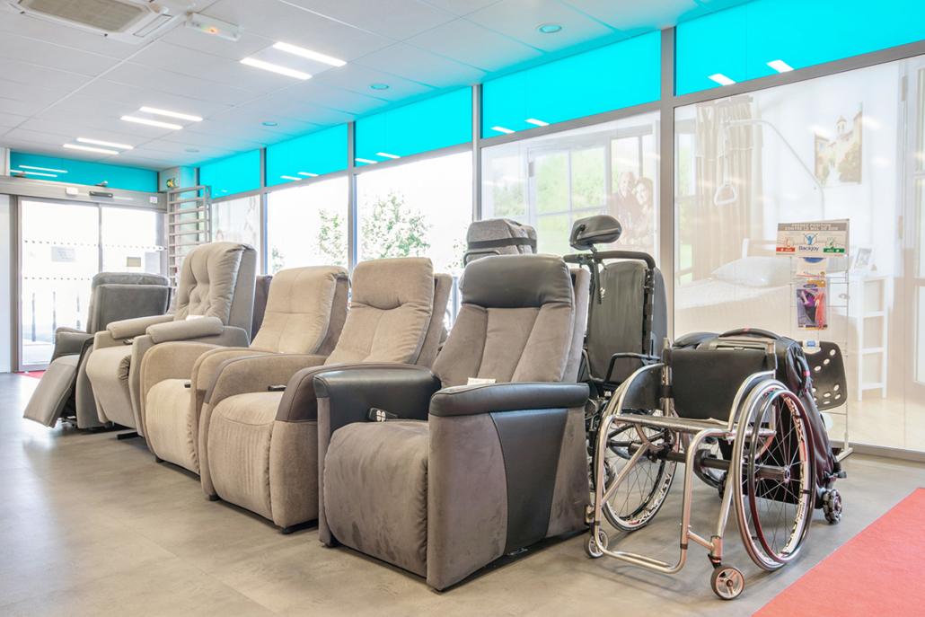 large gamme fauteuil releveur produit confort bien-être moteur bastide Chaumont
